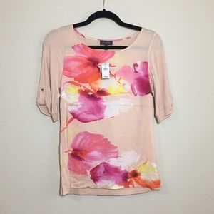 NWT The Limited 3/4 sleeve top - XS